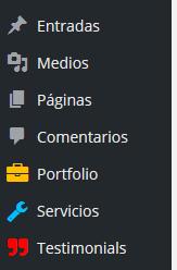 custom post types