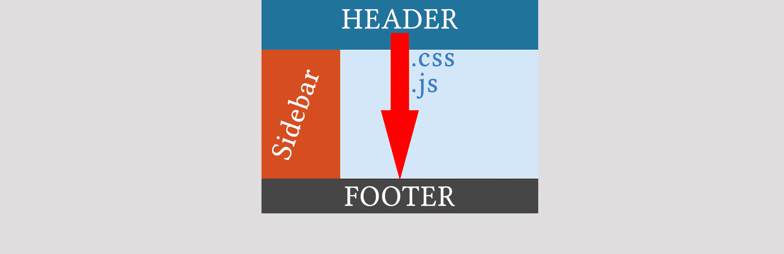 css js to footer