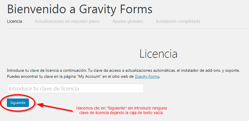 bypass Gravity Forms