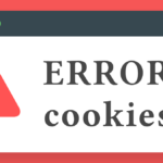 ERROR: Las cookies están bloqueadas o no permitidas ¿Cómo solucionarlo?